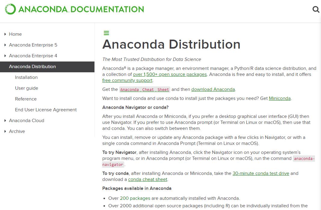 Python Package Installer Anaconda